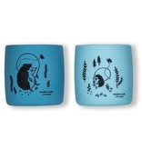 Modern Twist Sip Set- Hedgehog, Cornflower