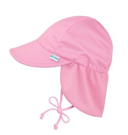 Breathable Sun Flap Hat- Light Pink