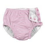 Reusable Swim Diaper- Light Pink Stripe