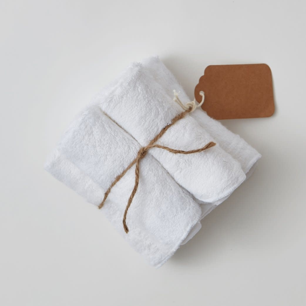 Willow Beans Organic Bamboo Washcloths