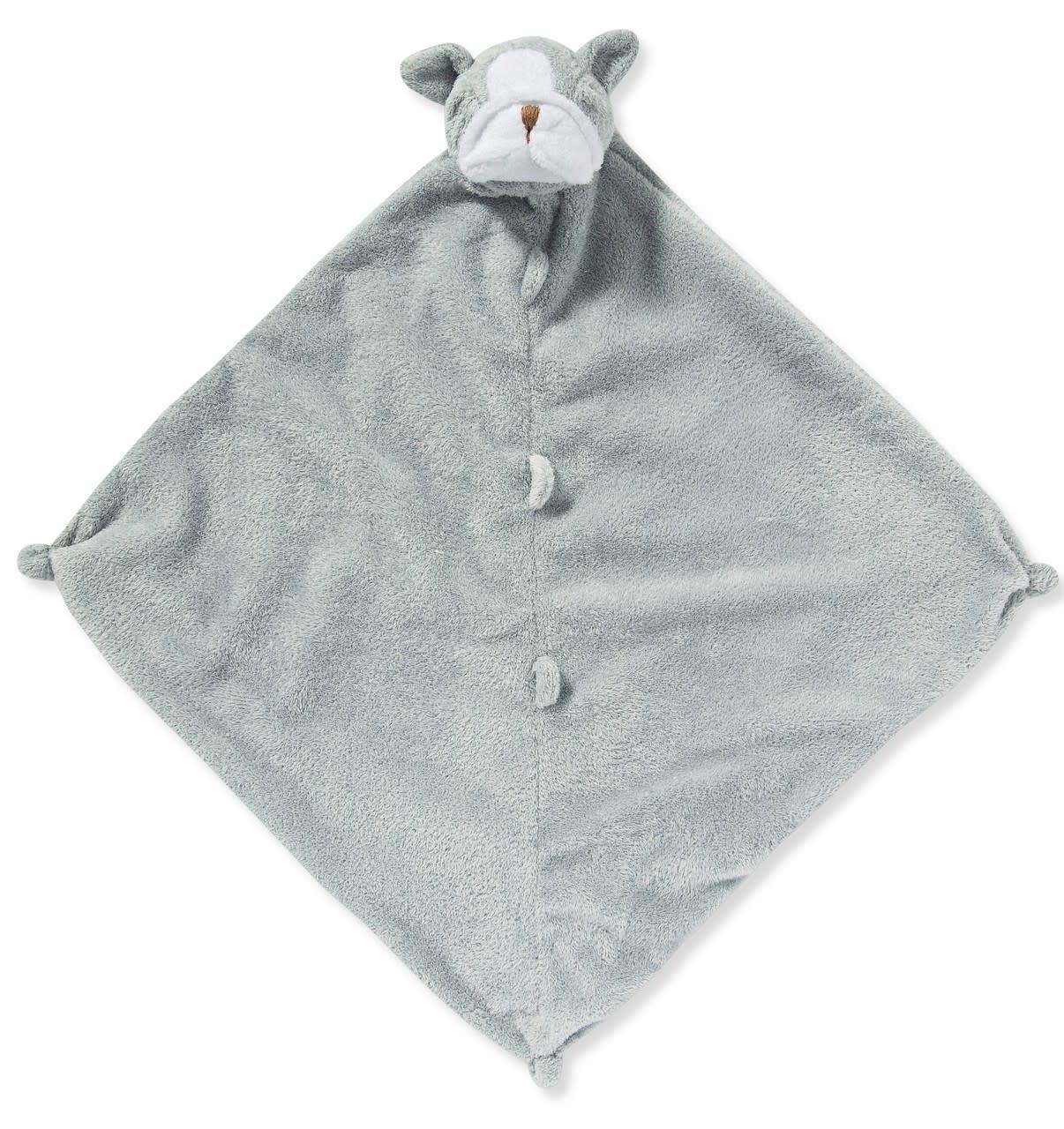 Blankie- Grey Bulldog
