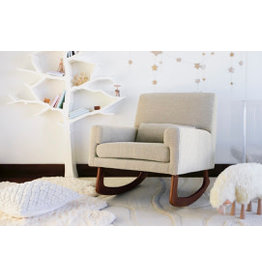 Nursery Works Sleepytime Rocker- Walnut Legs