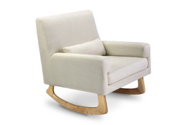 Nursery Works Sleepytime Rocker- Light Legs