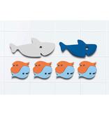 Quut Toys Bath Puzzle- Sharks
