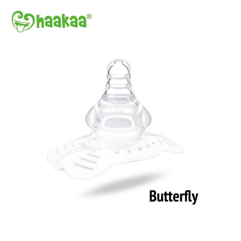 Haakaa Silicone Nipple Shields Butterfly Shape