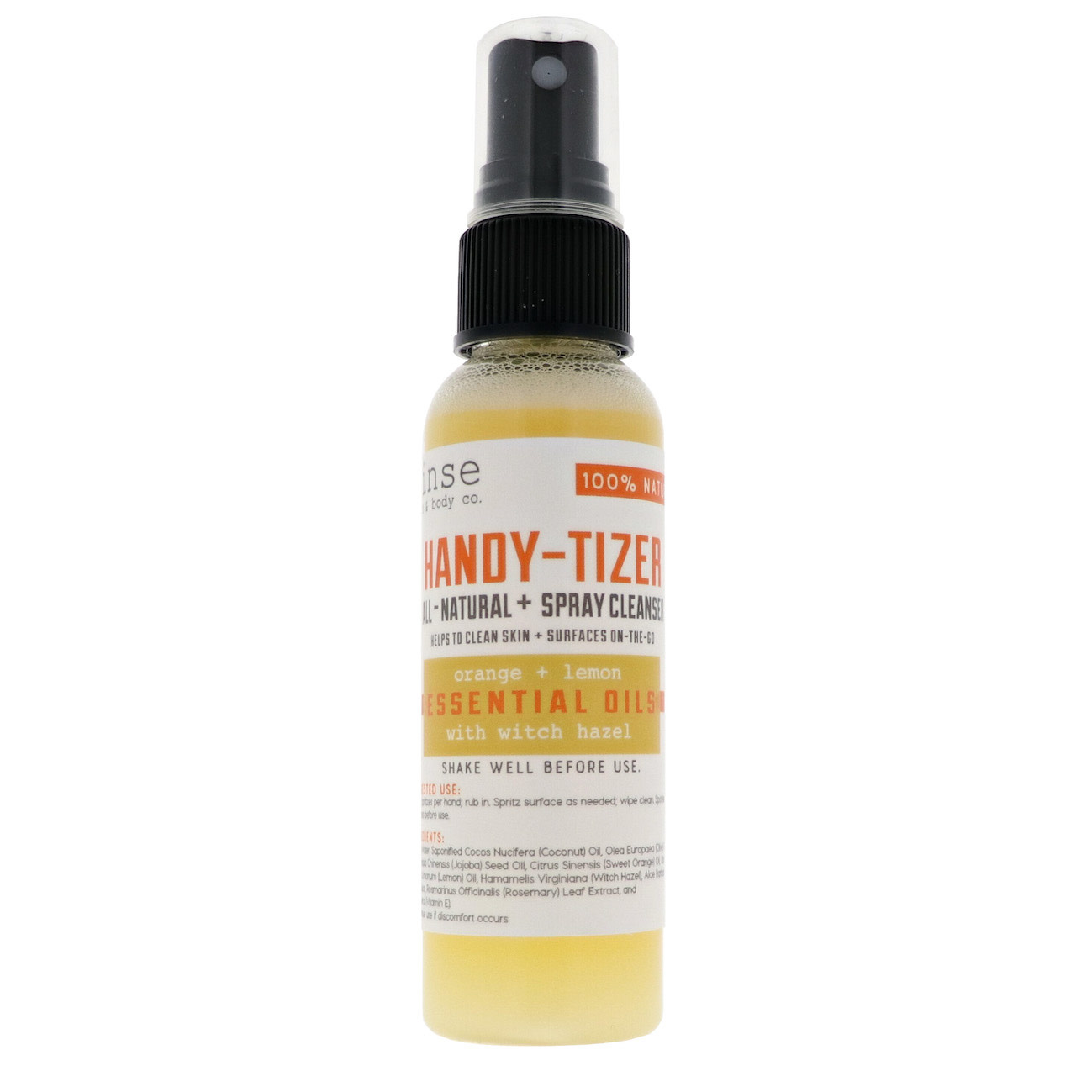 Rinse Bath Body Inc HandyTizer-Orange Lemon