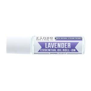 Rinse Bath Body Inc Roll-On Lavender Essential Oil