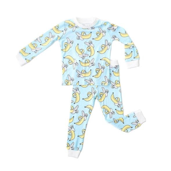Little Sleepies Two Piece Bamboo Pajama- Bananas