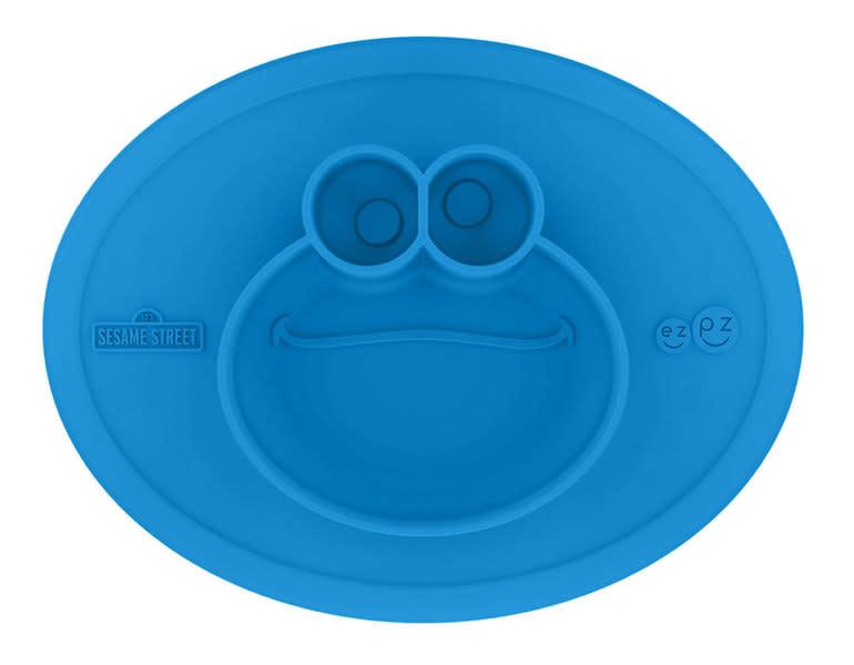 Ezpz ezpz + Sesame Street - Cookie Monster Mat