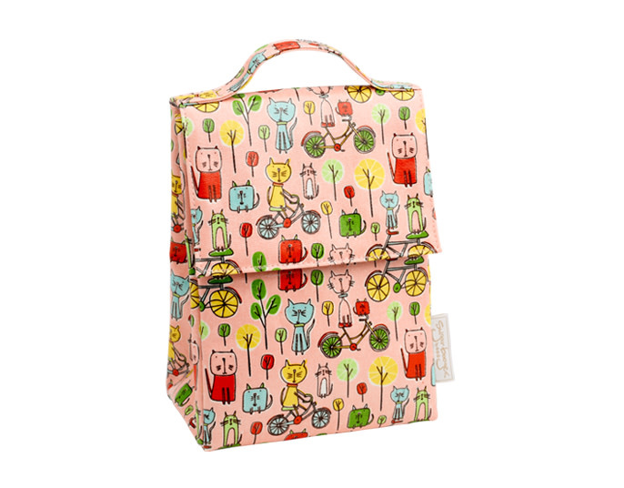 Sugarbooger Lunch Sack- Go Kitty