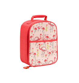Sugarbooger Zippee Lunch Tote- Flamingo