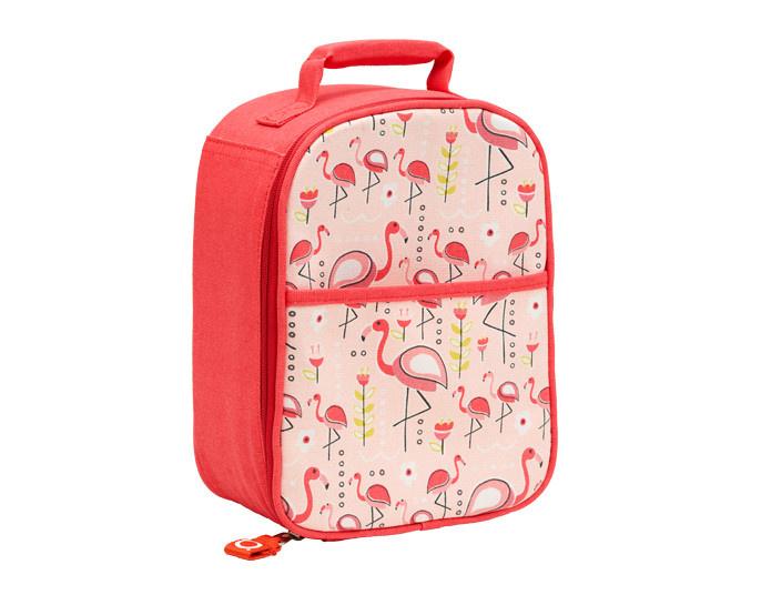 Sugarbooger Zippee Lunch Tote- Flamingo