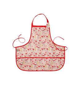 Sugarbooger Kiddie Apron- Flamingo
