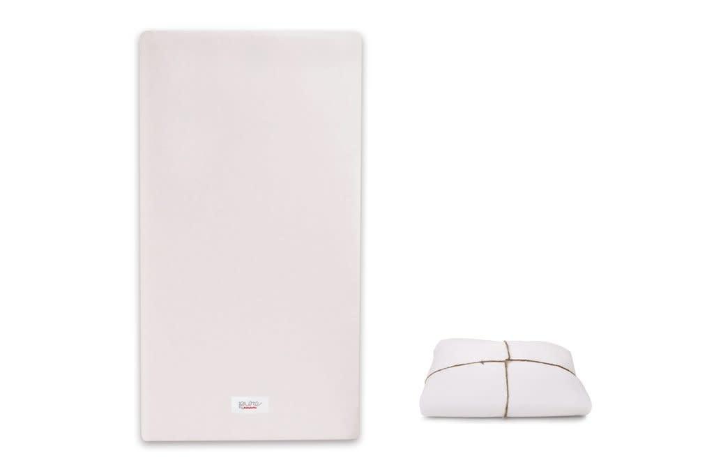 Babyletto Pure Core Non-Toxic Crib Mattress w/ Dry Waterproof Cover