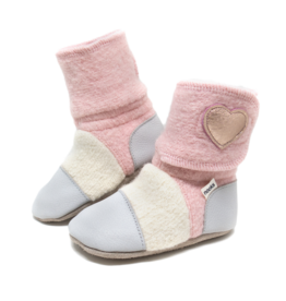 Nooks Designs Snowberry Felted Wool Booties