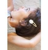 Camryn Girl Handmade Flower Snap Clip