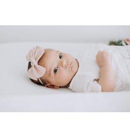 Camryn Girl Handmade Pink Pinwheel Bow Headband