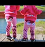 Pink Monster Leggings- Organic