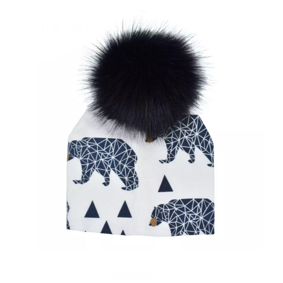 Tiny Trendsetter Bears Pom Beanie Hat
