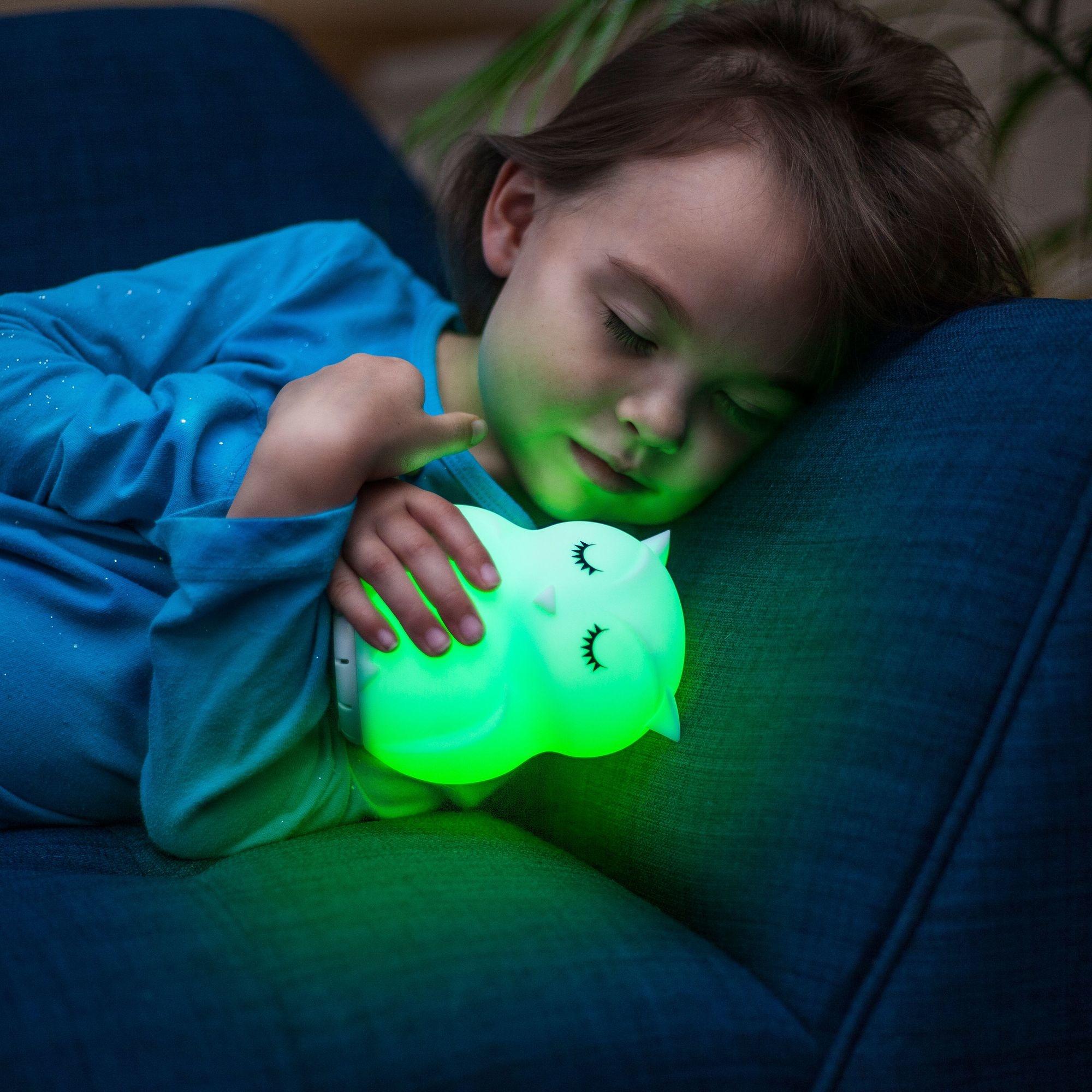 Lumieworld Lumipets LED Owl Night Light Bluetooth Speaker