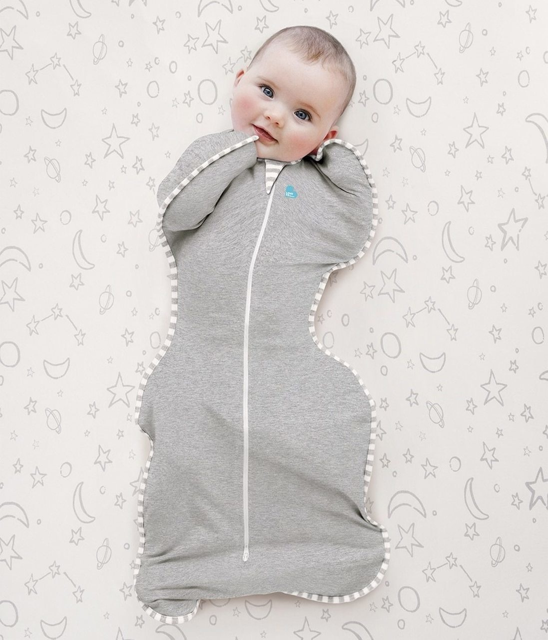 Swaddle Up- Gray