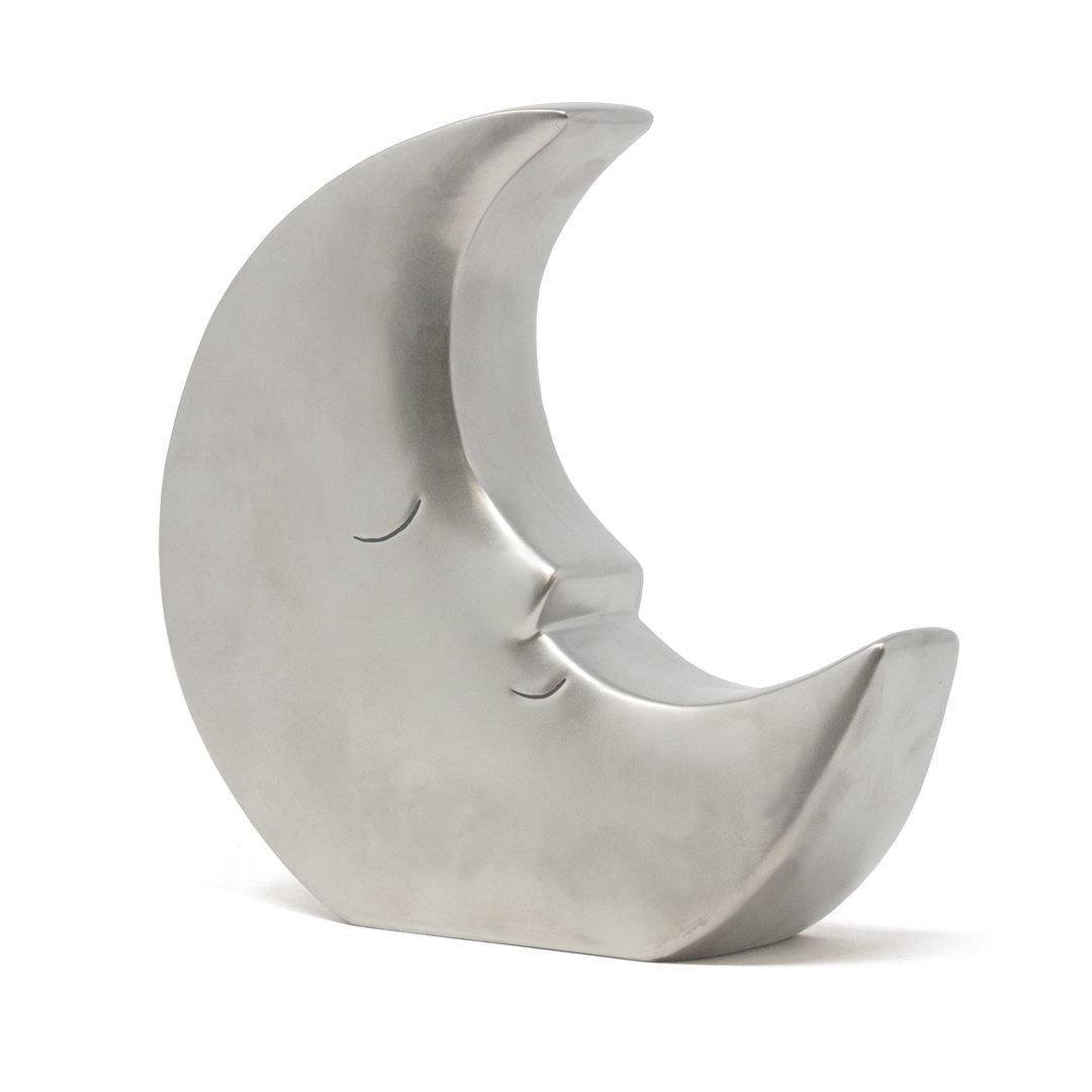 Child To Cherish Silver Large Moon Bank