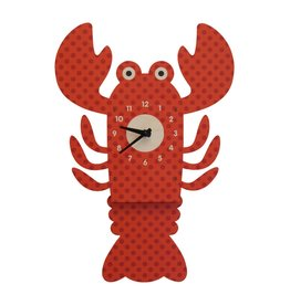Modern Moose Lobster Pendulum Clock