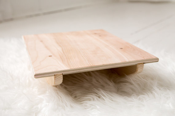 Clover and Birch Wooden Balance Board