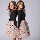 Tiny Trendsetter Tiny  Stars Parker L/S Dress