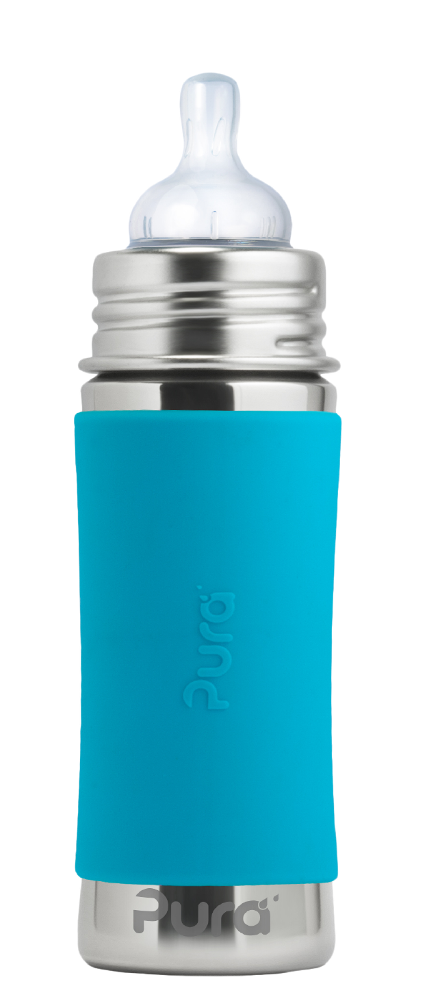 Pura Stainless 11oz Infant Bottle