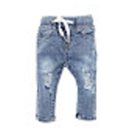 Little Bipsy Light Washed Distressed Denim