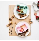 We Might Be Tiny Bear Snackie - Minty Green
