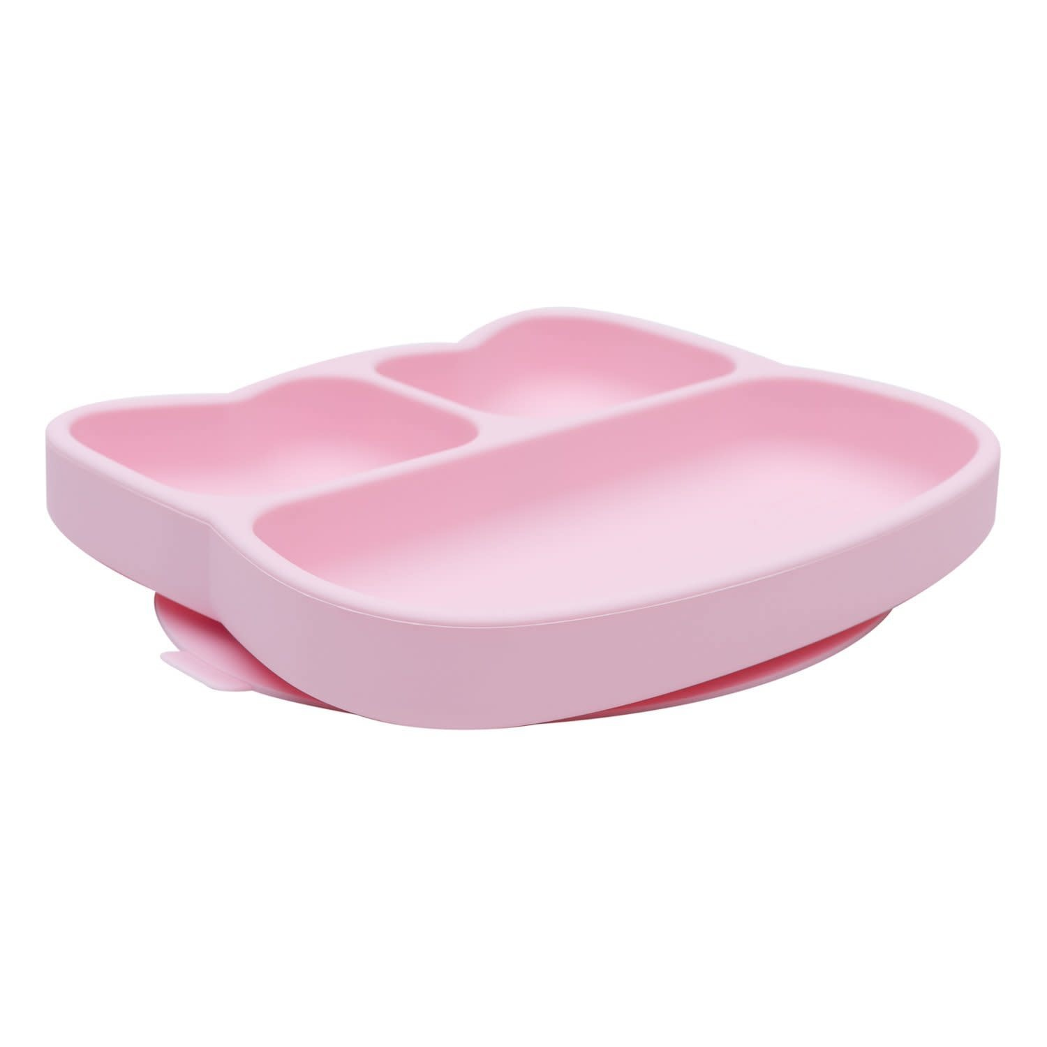 We Might Be Tiny Cat Stickie Plate - Powder Pink