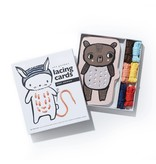 Wee Gallery Lacing Cards- Baby Animals