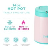 Swig Life 14 oz Hot Pot- Diamond White