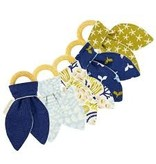 Sweetbottoms Naturals Organic Bunny Ear Teething Ring