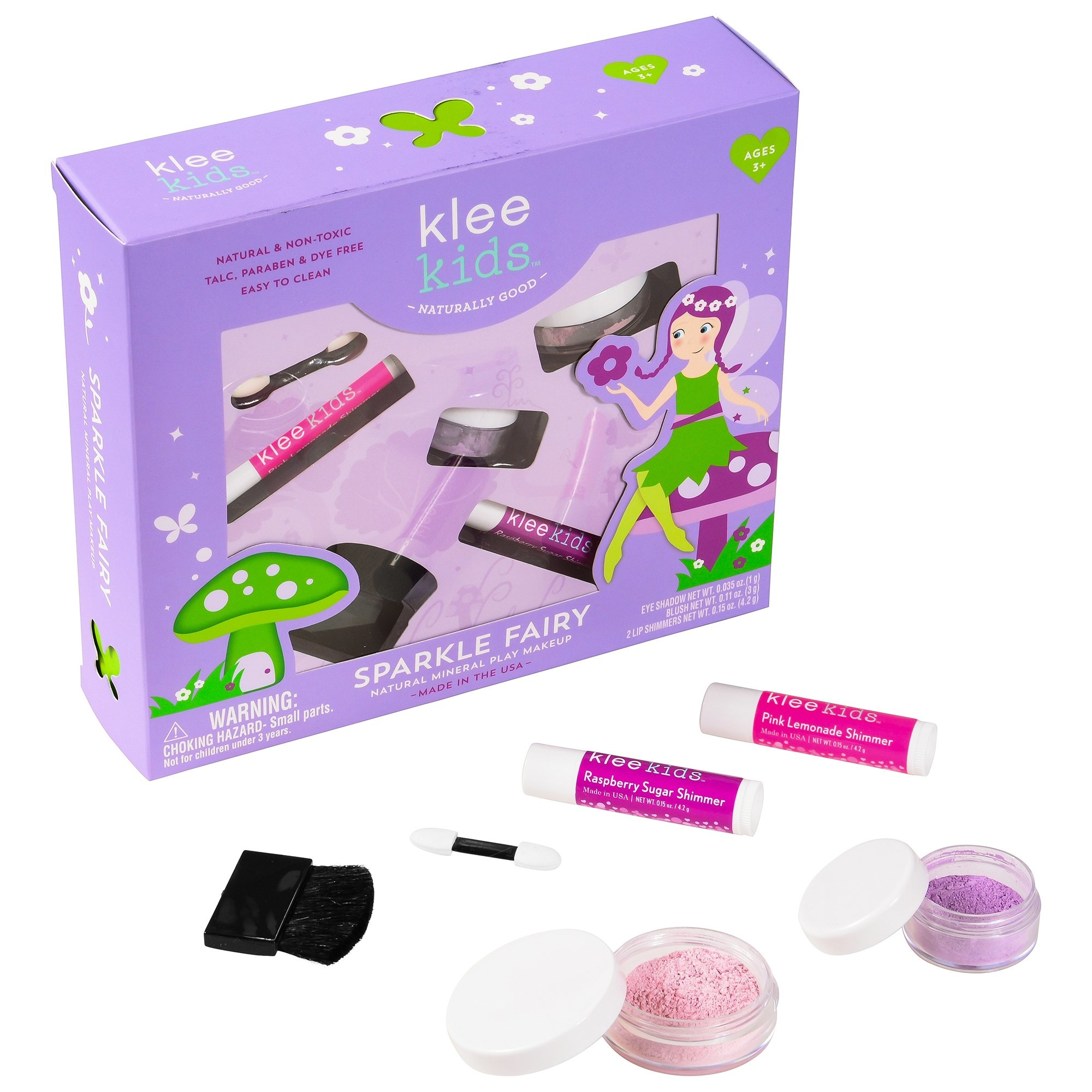 Klee Kids Natural Mineral Play Makeup Kit
