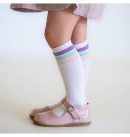 Little Stocking Co. Spring Stripe Knee Highs