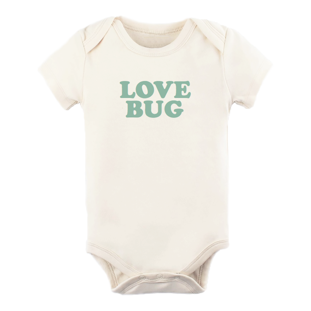 Tenth & Pine Love Bug S/S Bodysuit- Seafoam