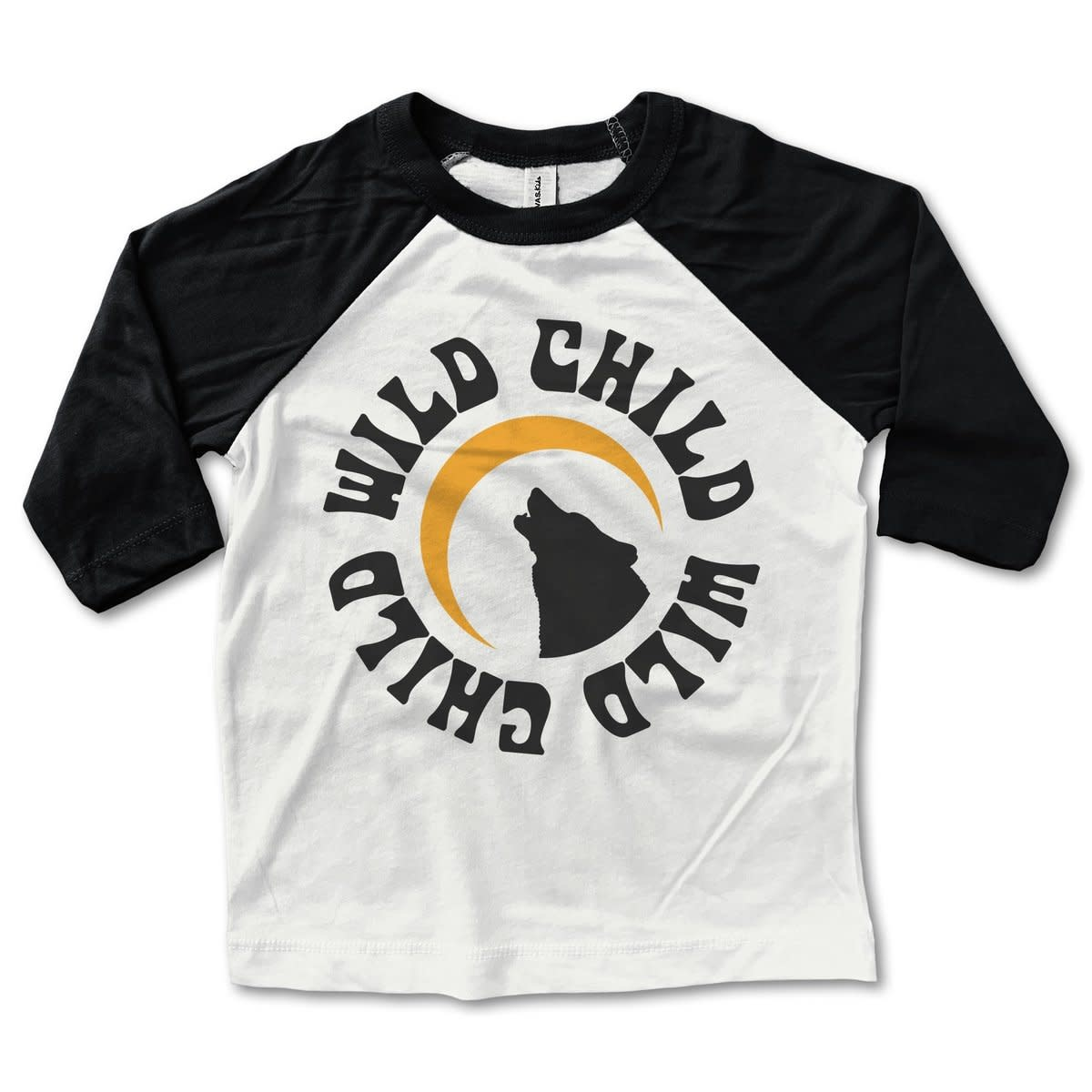 Rivet Apparel Wild Child Baseball Tee