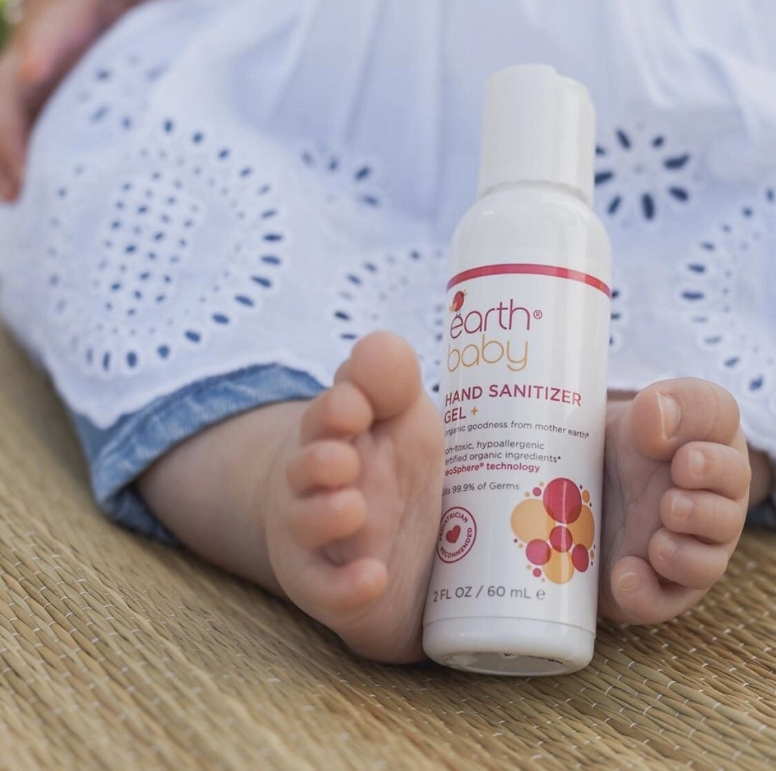 Earth Baby Hand Sanitizer Gel