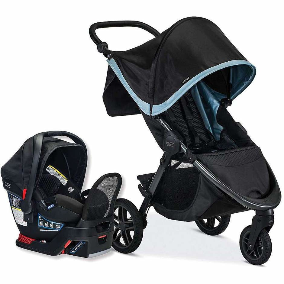 Britax Britax B-Free and Endeavours Travel System