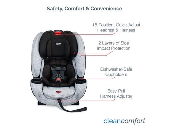 Britax Britax One4Life Clean Comfort Car Seat with ARB