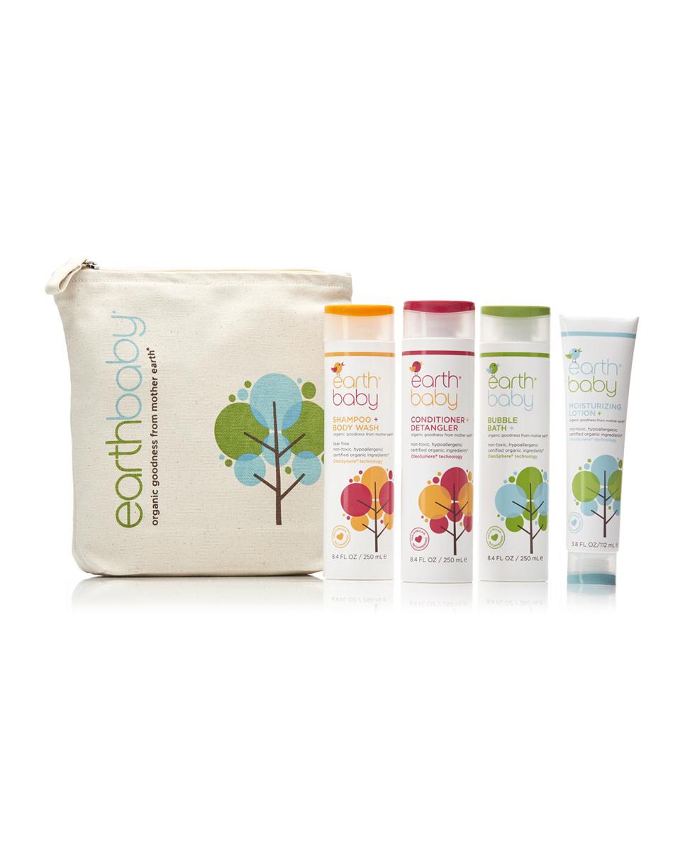 Earth Baby Bath Essential Kit