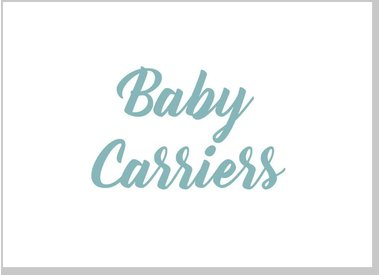 Carriers, Wraps and Slings