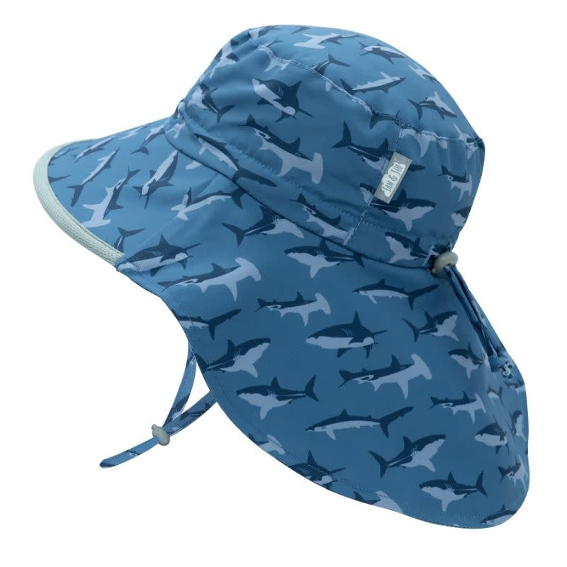 Jan & Jul Aqua Dry Adventure Sun Hat- Shark