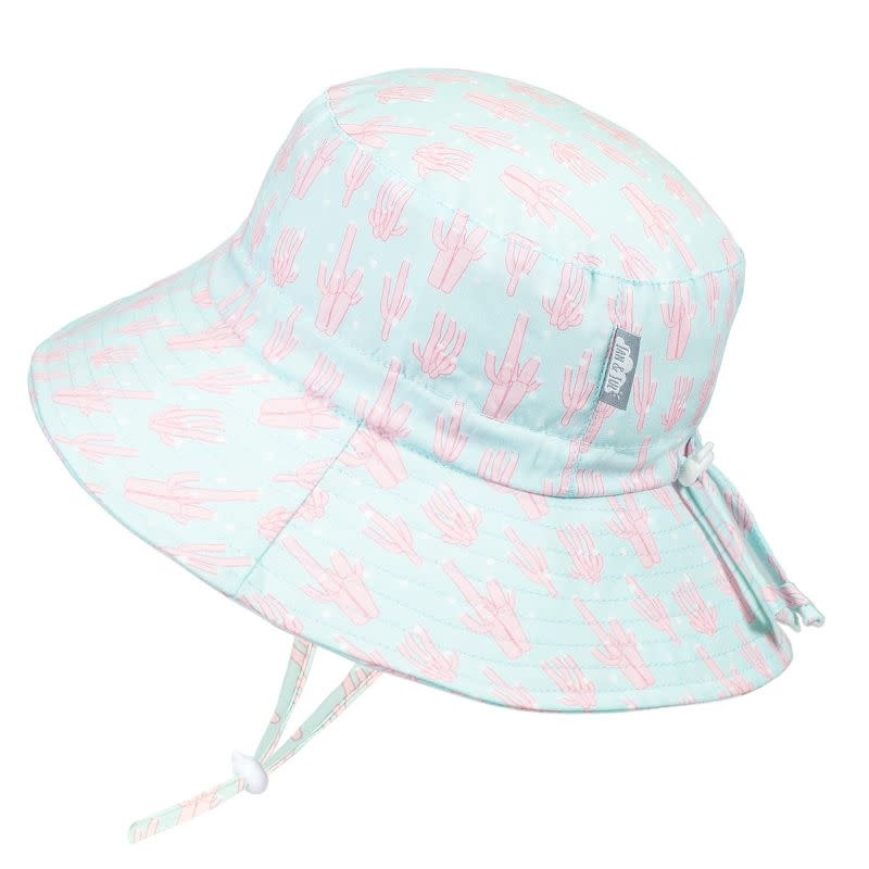 Jan & Jul Cotton Bucket Sun Hat- Coral