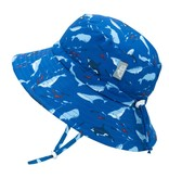 Jan & Jul Bucket Sun Hat- Whale