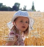 Jan & Jul Cotton Floppy Sun Hat- Narwhal