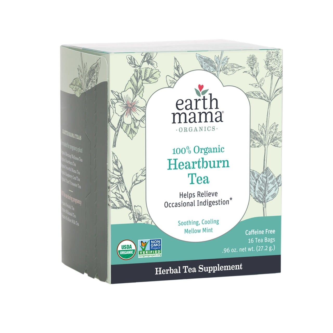 Earth Mama Organics Organic Heartburn Tea
